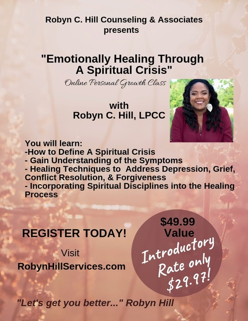 Emotionally Healing From A Spiritual Crisis