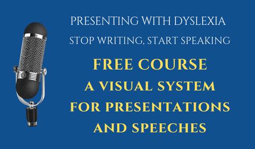 Presenting with Dyslexia - Free Intro