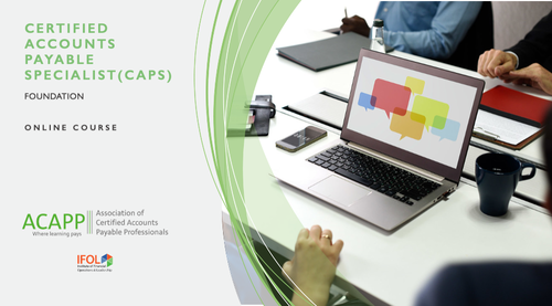 ACAPP Foundation | Certified Accounts Payable Specialist (CAPS)