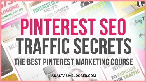 Pinterest SEO Traffic Secrets  + Coaching + Canva Templates