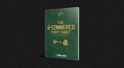 E-Commerce Cheat Sheet