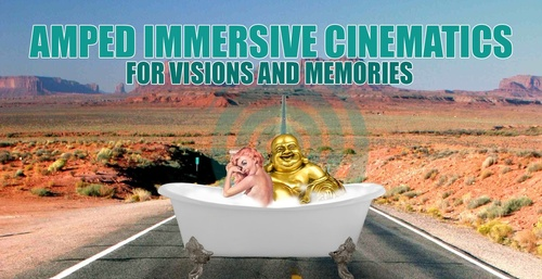 AMPED IMMERSIVE CINEMATICS sound-bath for having healing visions