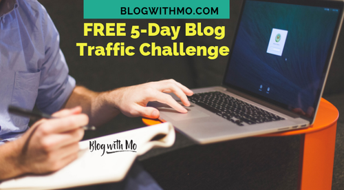 Free 5-Day Blog Traffic Challenge