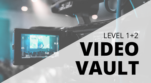 Video Vault of Coaching Calls (LEVEL 1 + 2)