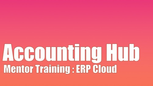 Mentor Training - Financial Accounting Hub