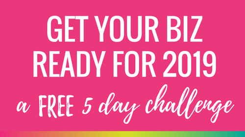 Plan Your Brand, Build Your Business - 5 Day Challenge