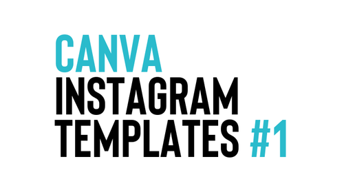 15 Editable Instagram Square Templates #1