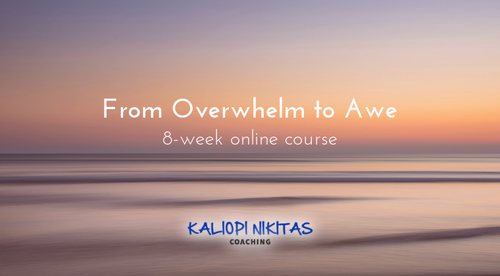 From Overwhelm to Awe