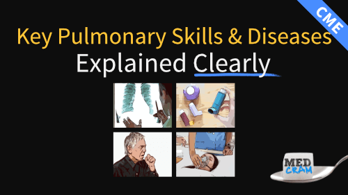 key pulmonary skills & diseases explained clearly