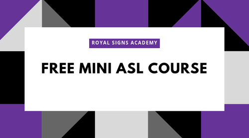 Free Mini ASL Course