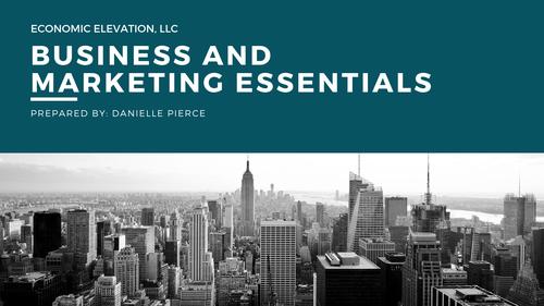Business & Marketing Essentials