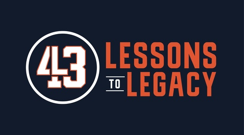 43 lessons to legacy