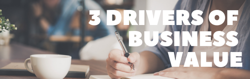 3 Drivers of Business Value