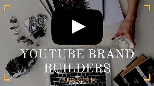 YouTube Brand Builders Masterclasses