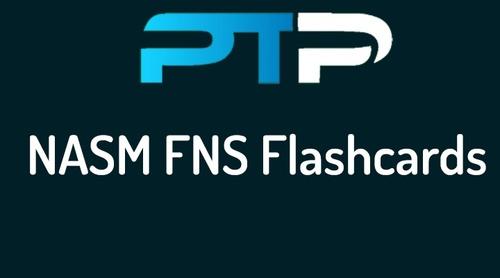 NASM FNS Flashcards