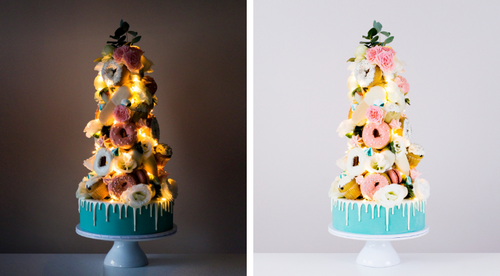 Light Up Dessert Tower Tutorial