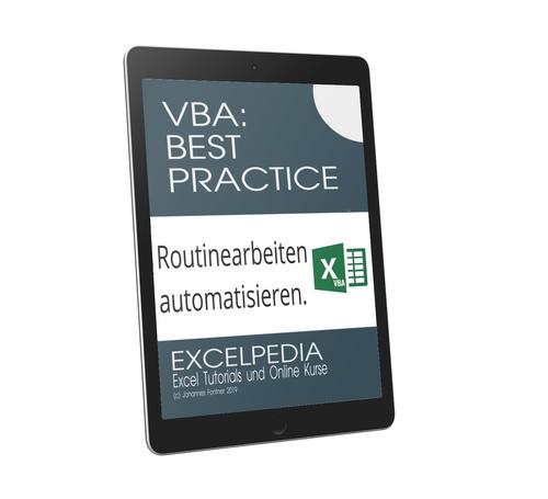VBA Best Practice