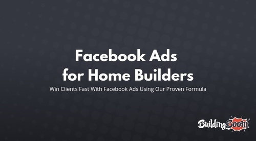 Facebook Lead Generation for Home Builders