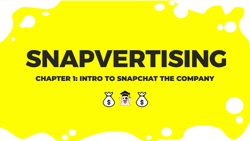 Snapvertising Training