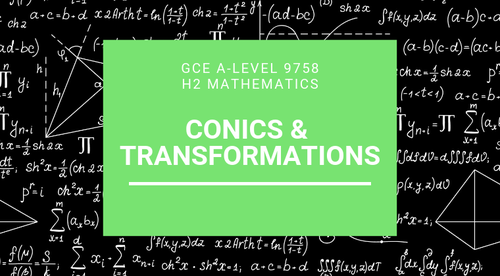 Conics and Transformations of graphs