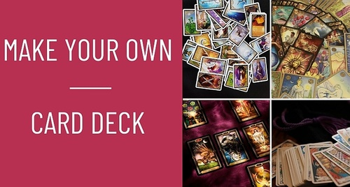 Make Your Own Card Deck!