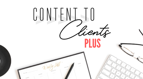 Content to Clients Plus
