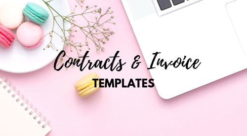 Cake Business Contracts & Forms Templates