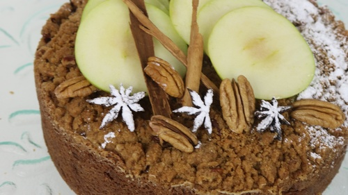 Coffeecake de Manzana