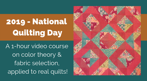 National Quilting Day Color Lecture (Mar 2019)