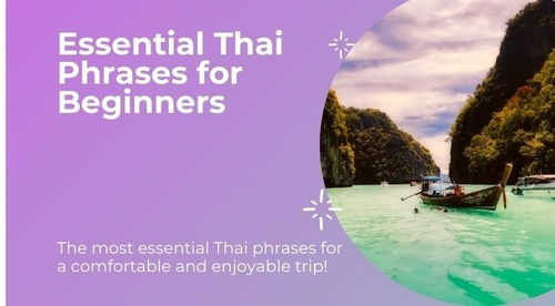 Essential Thai Phrases For Beginners ( Video Course + eBook )