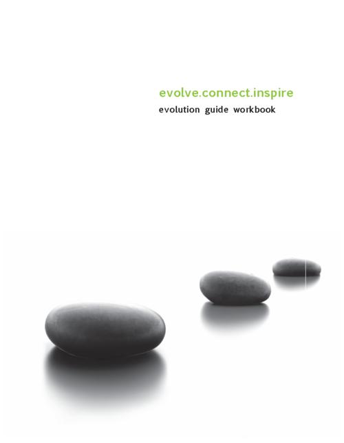 Evolution Guide Workbook