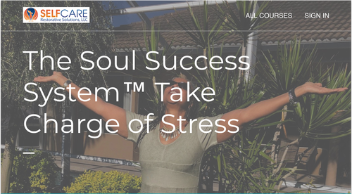The Soul Success System™ Take Charge of Stress