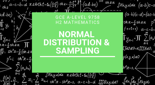 Normal Distribution & Sampling