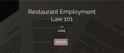 Restaurant Employment Law 101 | HIRE