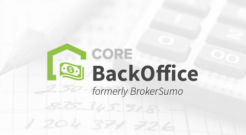 CORE Back Office Admin Quick Start