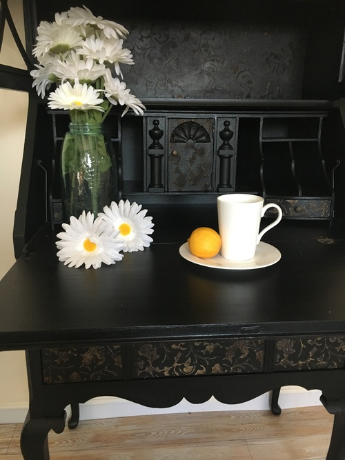 Black Lace Furniture Finish