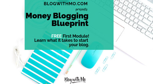 Money Blogging Blueprint Module 1