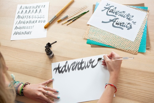 Stylizing Lettering in Photoshop