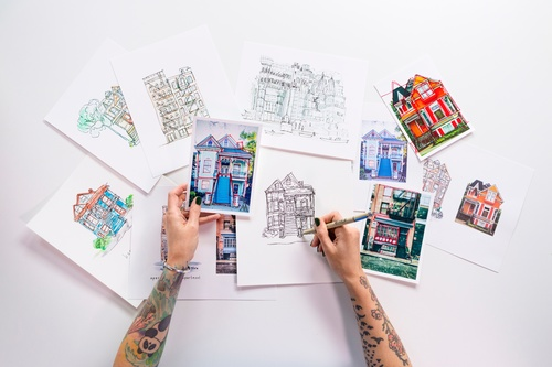 Line Drawing: Illustrating Your Home