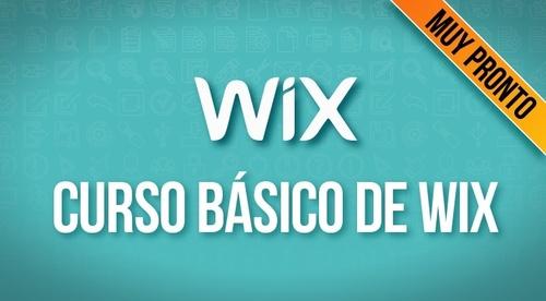 Creación de páginas Web con Wix (Muy Pronto en Construcción 🚧)
