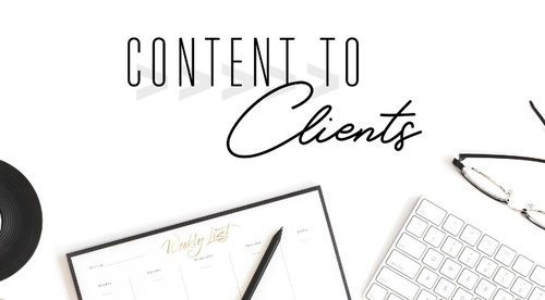 Content to Clients