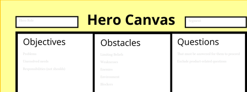 How to use the Hero Canvas