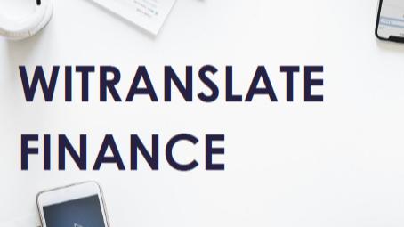 WiTranslate Finance