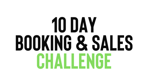 10 Day Sales & Booking Challenge