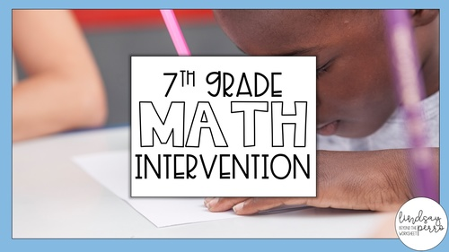 7th Grade Math Intervention Program