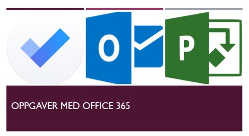 Gjør oppgaver med Office 365