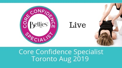 Core Confidence Specialist Certification - Toronto canfitpro Intensive Aug 2019