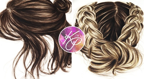 Painting Hair in Watercolour