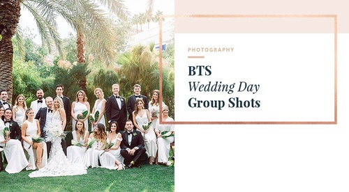 BTS - Wedding Party & Family Photos