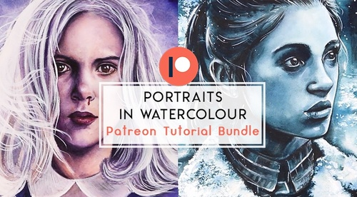 Painting Portraits in Watercolour